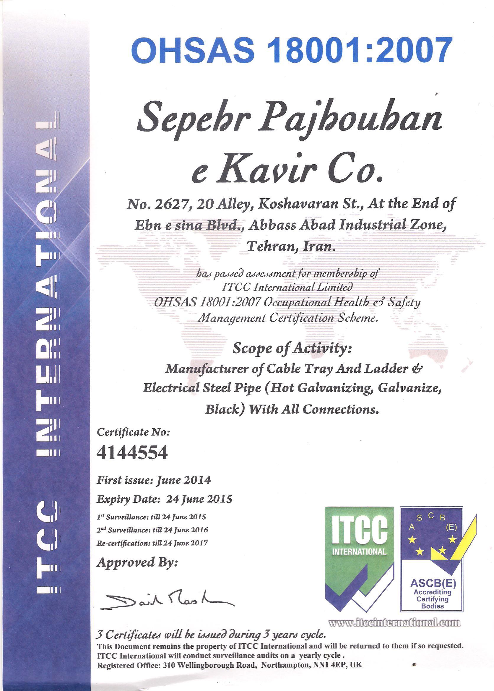 certificates (5)